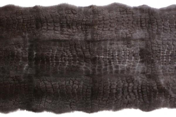 Natural Black Ls. Big Croco LH